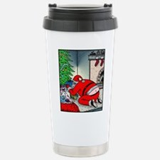 Santa's Butt crack Travel Mug