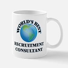 World's Best Recruitment Consultant Mugs