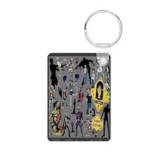 Zombie Keychains Keychains