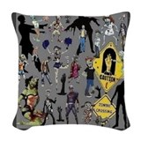 Zombie Throw Pillows