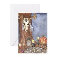Samhain Tree Greeting Cards