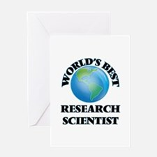 World's Best Research Scientist Greeting Cards