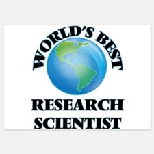 World's Best Research Scientist Invitations