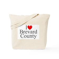 """""""I Love Brevard County"""" Tote Bag"""