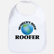 World's Best Roofer Bib