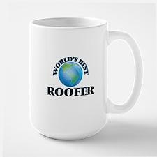World's Best Roofer Mugs