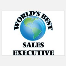 World's Best Sales Executive Invitations