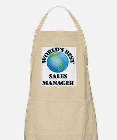 World's Best Sales Manager Apron