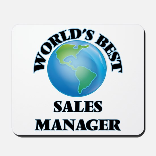 World's Best Sales Manager Mousepad