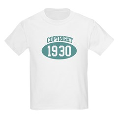 Copyright 1930 Kids Light T-Shirt