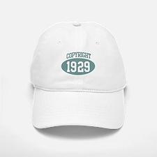 Copyright 1929 Baseball Baseball Cap