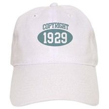 Copyright 1929 Baseball Cap