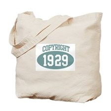 Copyright 1929 Tote Bag