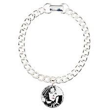 Greta in Black and White Bracelet