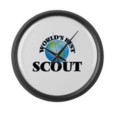 World's Best Scout Large Wall Clock