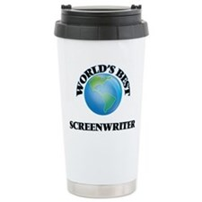 World's Best Screenwrit Travel Mug