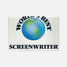 World's Best Screenwriter Magnets