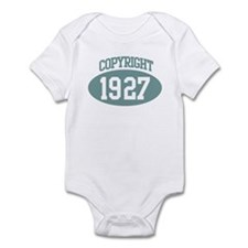Copyright 1927 Infant Bodysuit