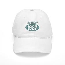 Copyright 1927 Baseball Cap