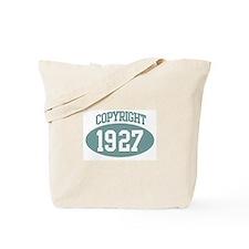 Copyright 1927 Tote Bag