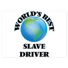 World's Best Slave Driver Invitations