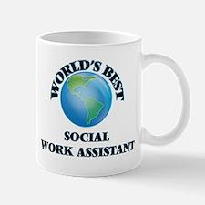 World's Best Social Work Assistant Mugs