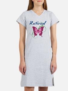 Retired (Butterfly) Women's Nightshirt