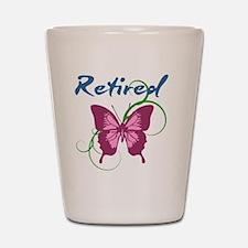 Retired (Butterfly) Shot Glass