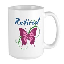 Retired (Butterfly) Mugs