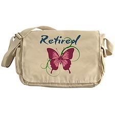 Retired (Butterfly) Messenger Bag