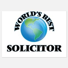 World's Best Solicitor Invitations