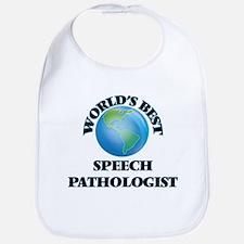World's Best Speech Pathologist Bib