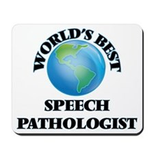 World's Best Speech Pathologist Mousepad