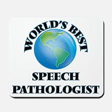 World's Best Speech Pathologist Mousepad