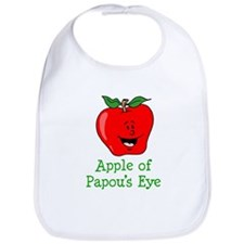 Apple of Papou's Eye Bib