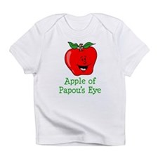 Apple of Papou's Eye Infant T-Shirt
