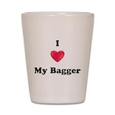 I love my Bagger Shot Glass