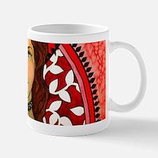 Red Girl Mugs