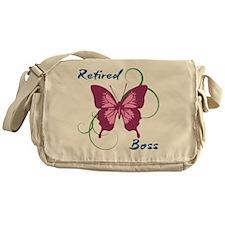 Retired Boss (Butterfly) Messenger Bag