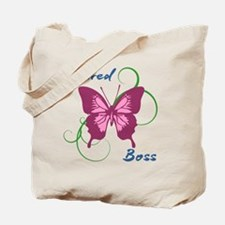 Retired Boss (Butterfly) Tote Bag