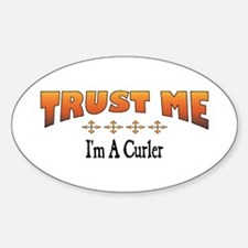 Trust Curler Oval Decal
