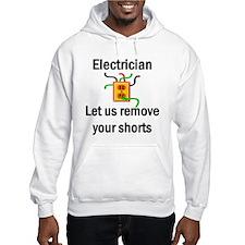 Cute Electrician career Hoodie
