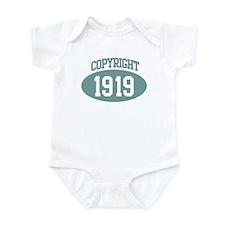 Copyright 1919 Infant Bodysuit