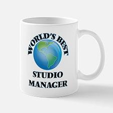 World's Best Studio Manager Mugs