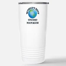 World's Best Studio Man Travel Mug