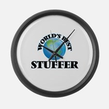 World's Best Stuffer Large Wall Clock