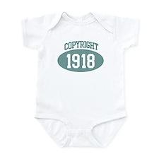 Copyright 1918 Infant Bodysuit