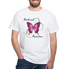 Retired Teacher (Butterfly) Shirt