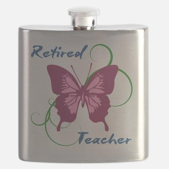Retired Teacher (Butterfly) Flask