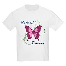 Retired Teacher (Butterfly) T-Shirt